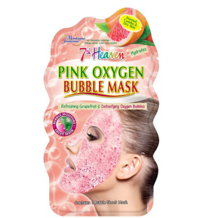 7th Heaven face mask pink oxygen
