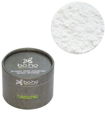 Mineral loose powder translucent powder white