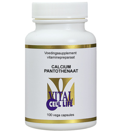 Vitamine B5 calciumpantothenaat 200 mg