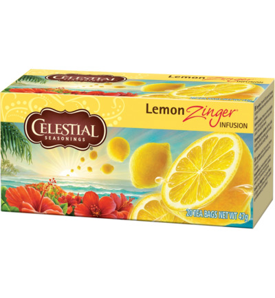 Lemon zinger herb tea