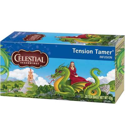 Tension tamer herb tea