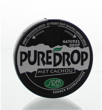 Cachou naturel drop potje