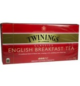 English breakfast tea envelop zwart