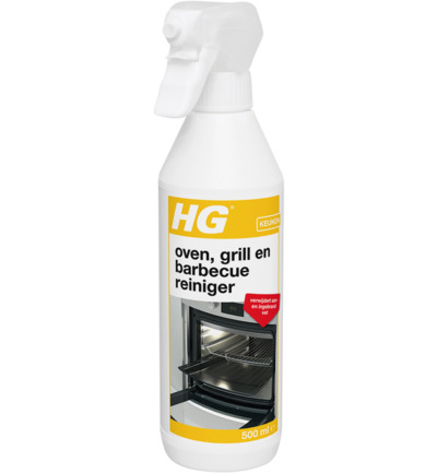 Oven grill en barbecue reinigingspray
