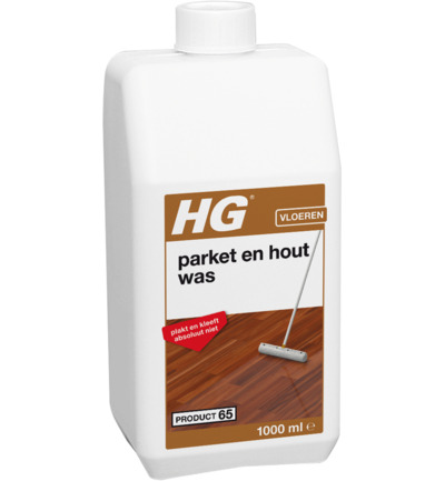 Vloeibare was naturel parket 65