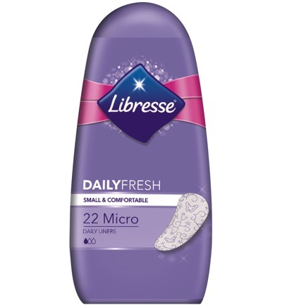 Image of Libresse Inlegkruisje Micro Dailyfresh (22st)
