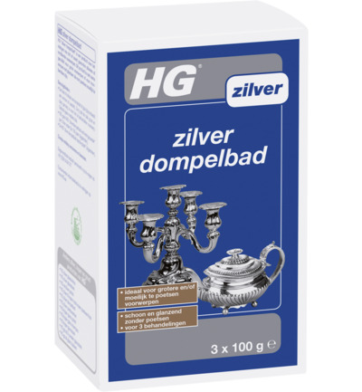 Zilver dompelbad