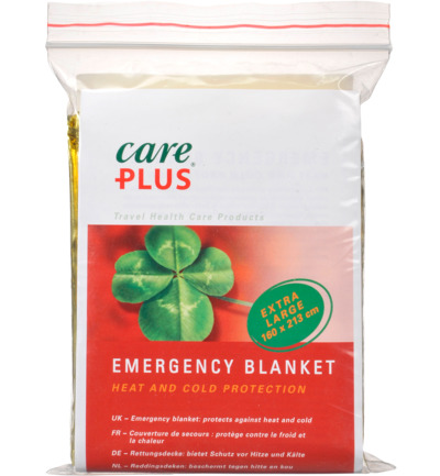 Emergency blanket gold/silver