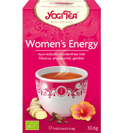 Yogi Tea Women s Energy 17zakjes