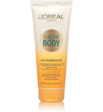Body expertise sublime body nutribronze milk donke