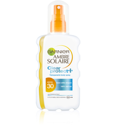 Ambre solaire clear protect SPF30 spray
