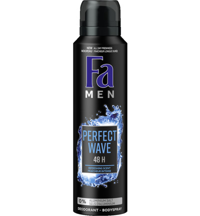 Men deodorant spray perfect wave