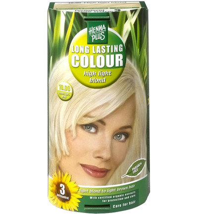 Long lasting colour 10.00 highlight blond