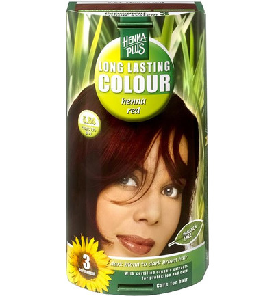 Long lasting colour 5.64 henna red