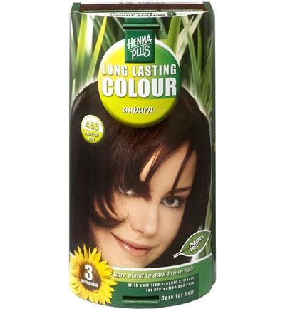 Long lasting colour 4.56 auburn