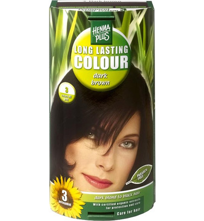 Long lasting colour 3 dark brown