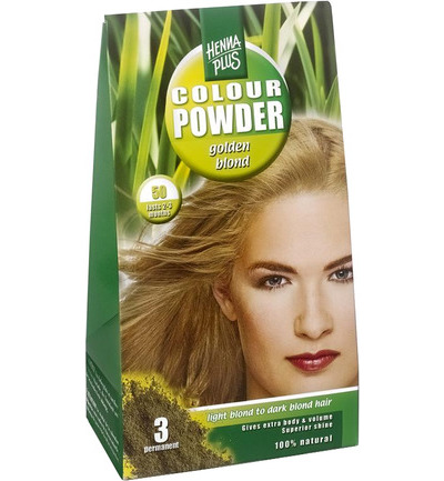 Colour powder 50 golden blond