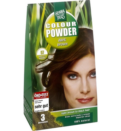 Colour powder 57 dark brown