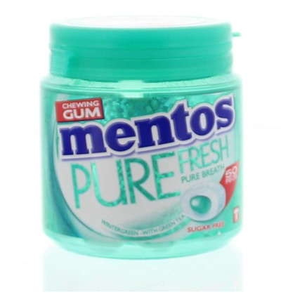 Gum pure fresh winter pot