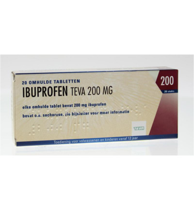 Image of Teva Ibuprofen 200 Mg (20tb)