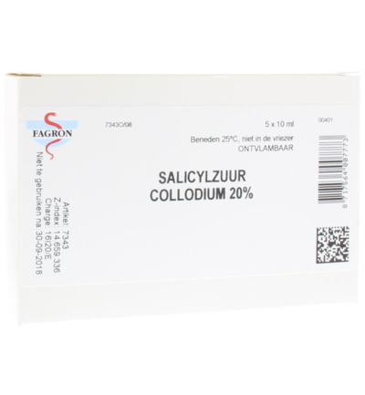 Salicylzuurcollodium 20% 10 ml