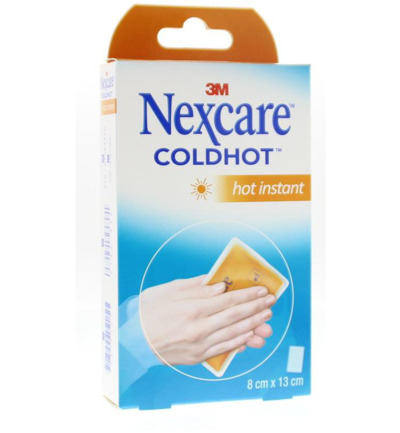Cold hot pack instant hot