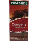 Cranberry rooibos thee bio