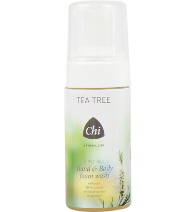 Tea tree hand & body wash foam
