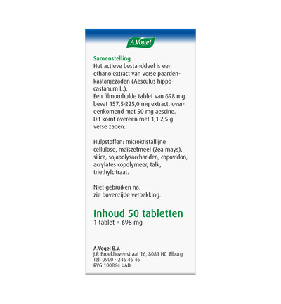 Aesculaforce tabletten