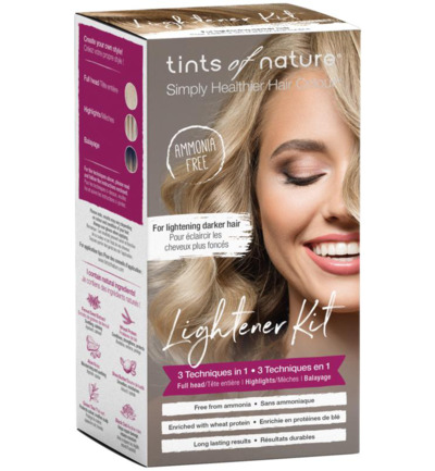 Lightener kit 3 in 1