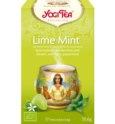 Yogi Tea Lime Mint      ^ 17 St