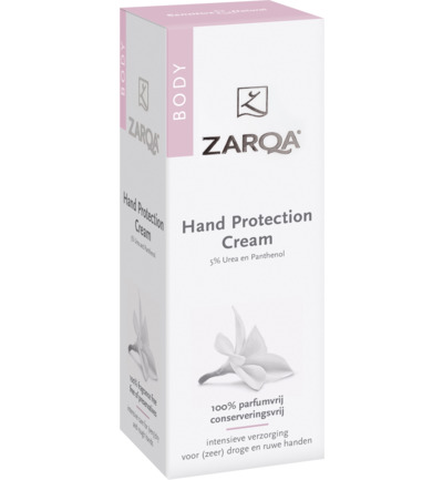 Hand protection cream tube