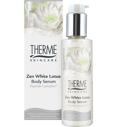 Zen white lotus body serum