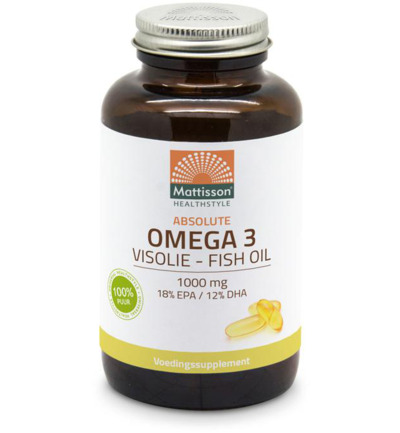 Absolute Omega 3 Visolie 1000mg