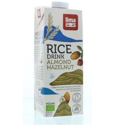 Rice drink hazelnoot amandel bio