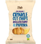 Ribbelchips paprika