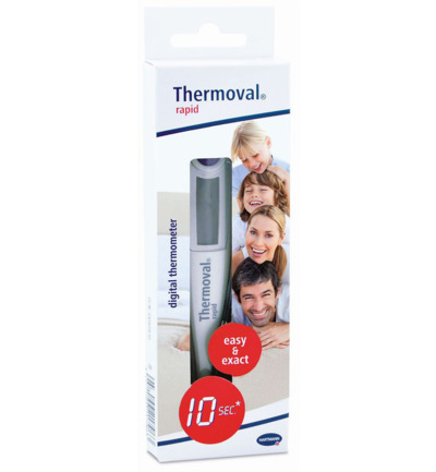rapid digitale thermometer