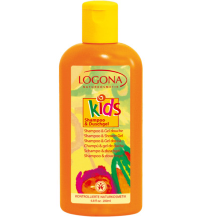 Kids 2 in 1 shampoo/douche