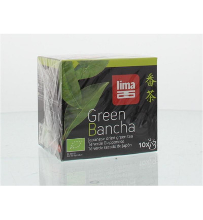Green bancha thee builtjes bio
