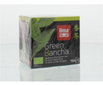 Green bancha thee builtjes