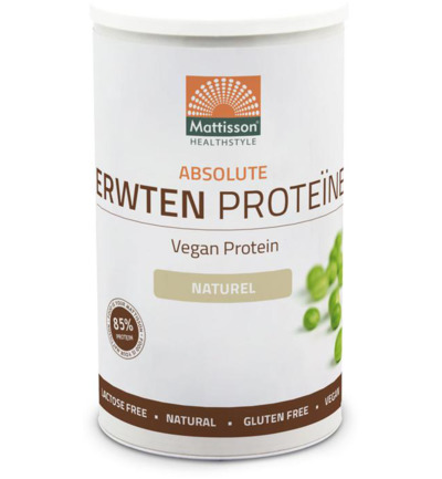 Absolute erwten proteine naturel vegan