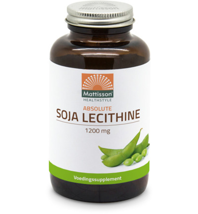Absolute soja lecithine 1200 mg