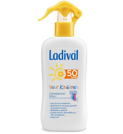Ladival Sun Melk Kind Spray Factor (spf)50 200ml