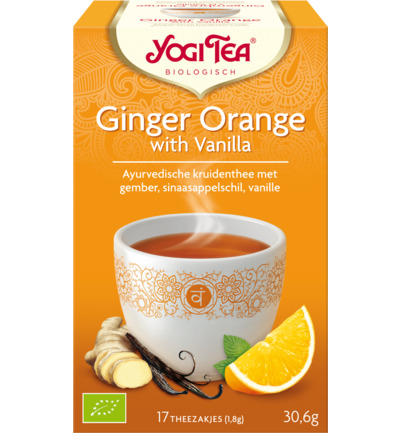 Yogi Ginger Orange Vanilla 17st