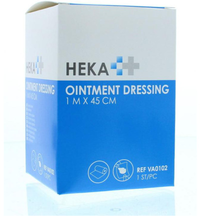 Ointment dressing / Engels pluksel 1 m x 45 cm