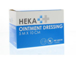 Ointment dressing / Engels pluksel 5 m x 10 cm
