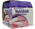 Compact proteine aardbei 125 ml