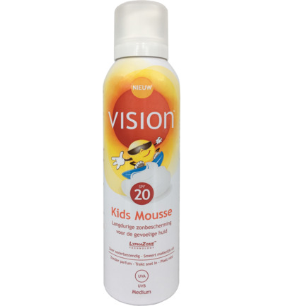 Kids mousse SPF20