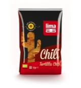 Tortilla chips chili bio