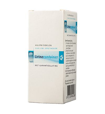 Urinecontainer 60 ml met garantiesluiting